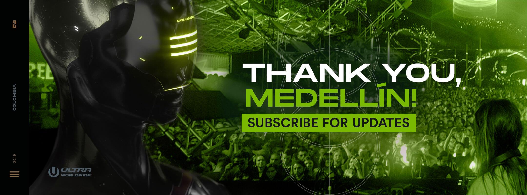 Subscribe for Updates for RESISTANCE Medellín