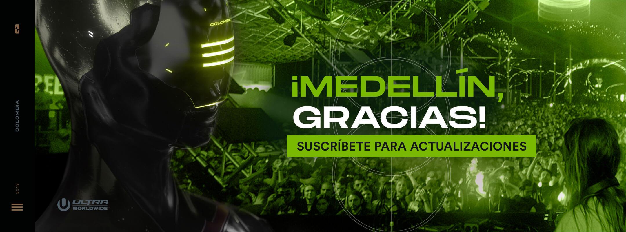 Recibe actualizaciones de RESISTANCE Medellín